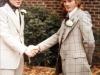 Trevor and Ken at Trevor's wedding