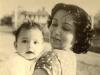 Sharry and Mum - 1952
