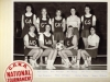 West Island Netball Assoc. team for Canadian championships - 1975